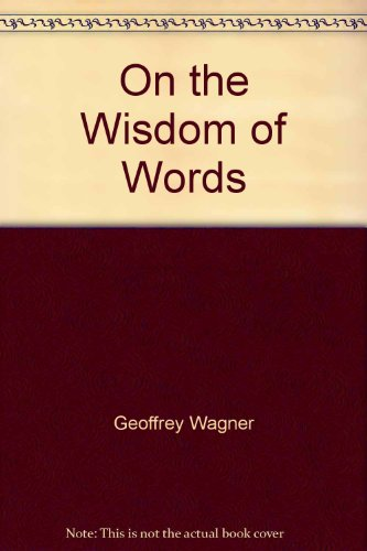 9780440002000: On the Wisdom of Words