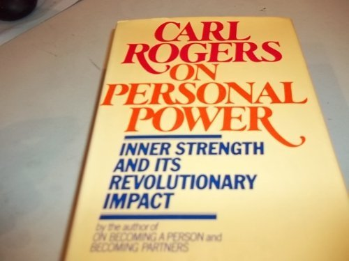 9780440009801: Carl Rogers on personal power