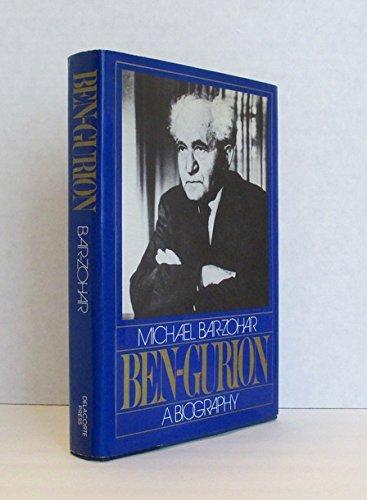 9780440009870: Ben-Gurion: A biography