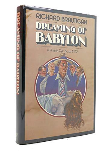 9780440021469: Dreaming of Babylon: A Private Eye Novel, 1942