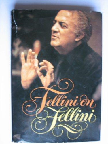 9780440025283: Fellini on Fellini
