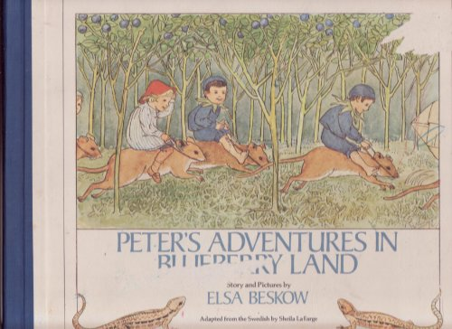 9780440044345: Peter's Adventure in Blueberry Land