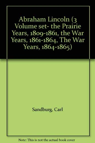 9780440048220: Abraham Lincoln The War Years (1861-1864) (The Prairie Years and the War Years,