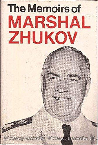 Memoirs of Marshal G. Zhukov: Marshal G. Zhukov
