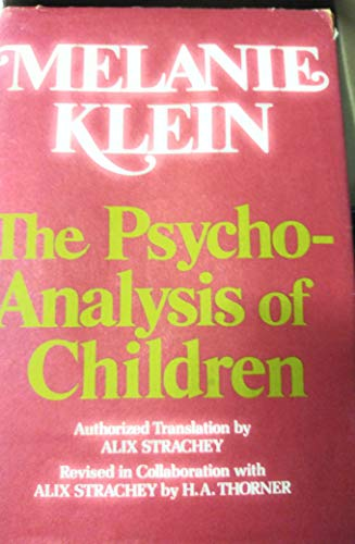 9780440060857: Title: The Psychoanalysis of Children
