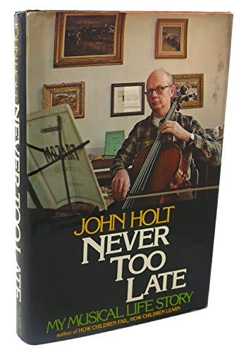 9780440066415: Never too late: My musical life story