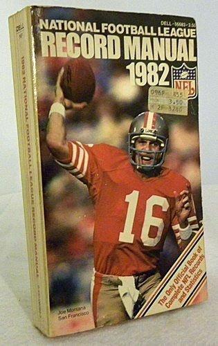 9780440066835: National Football League Record Manual 1982