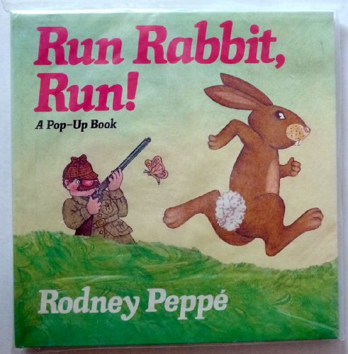 9780440073970: Run rabbit, run! (A Pop-up book)