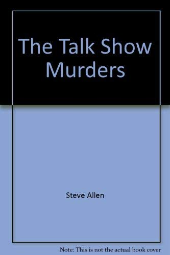 9780440084716: The talk show murders