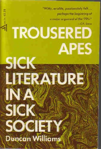 9780440090373: Trousered Apes: Sick Literature In a Sick Society