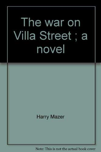 9780440093497: The War on Villa Street