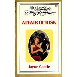 Affair of Risk (Candlelight Ecstasy #55): Castle, Jayne