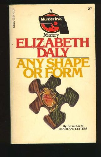 9780440101086: Any Shape or Form (A Murder Ink Mystery)
