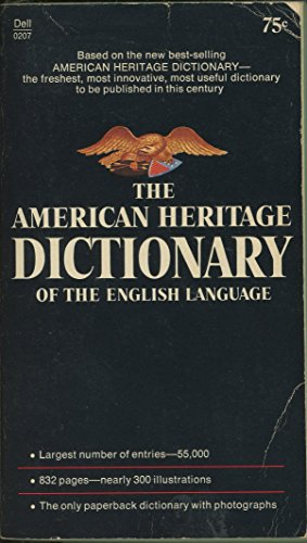 9780440102076: The American Heritage Dictionary of the English Language