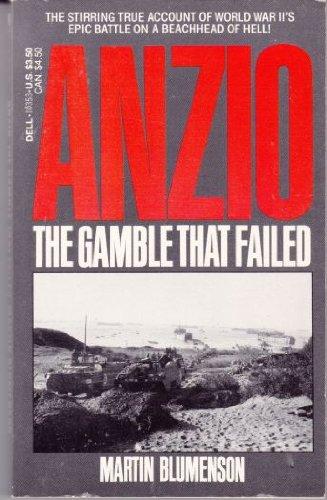 9780440103530: Anzio: The Gamble That Failed