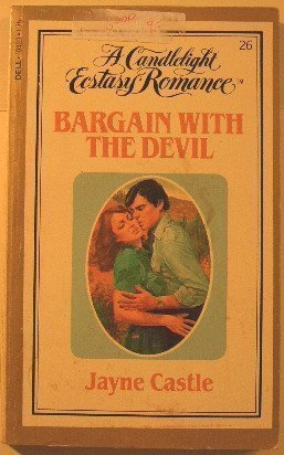 9780440104230: Bargain with the Devil (Candlelight Ecstasy Romance)