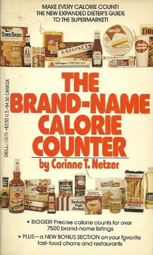 The Brand-Name Calorie Counter
