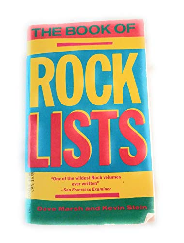 9780440107279: Book of Rock Lists