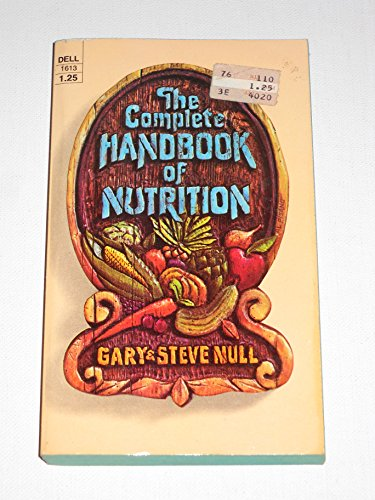 9780440116134: The Complete Handbook of Nutrition
