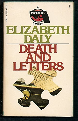 Death and Letters: Daly, Elizabeth