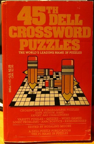 DELL CROSSWORD PUZZLES #45: Moore, Rosalind