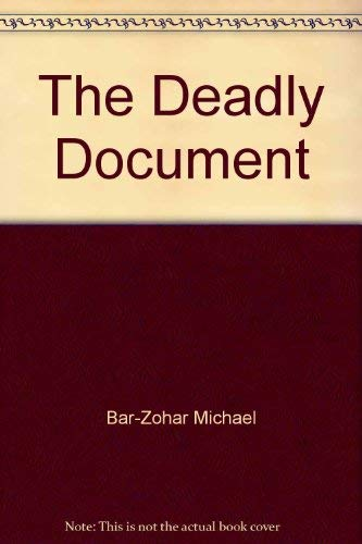 9780440121657: The Deadly Document