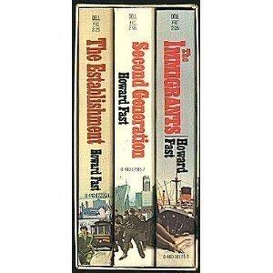 9780440145349: Howard Fast's Immigrants Saga, 3 Volume Boxed Paperback Set