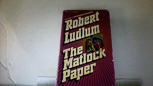 9780440155386: The Matlock Paper