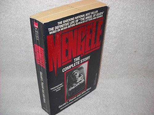 9780440155799: Mengele