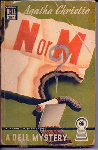 N or M? (Dell, No. 16254) 9780440162544 Volume 38 in the Agatha Christie Collection (1941) Limited edition of 800 copies worldwide It is World War II, and while the RAF struggles to keep the Luftwaffe at bay, Britain faces an even more sinister threat from 'the enemy within' -- Nazis posing as ordinary citizens. With pressure mounting, the Intelligence service appoints two unlikely spies, Tommy and Tuppence Beresford. Their mission: to seek out a man and a woman from among the colourful guests at Sans Souci, a seaside hotel. But this assignment is no stroll along the promenade. After all, N and M have just murdered Britain's finest agent...