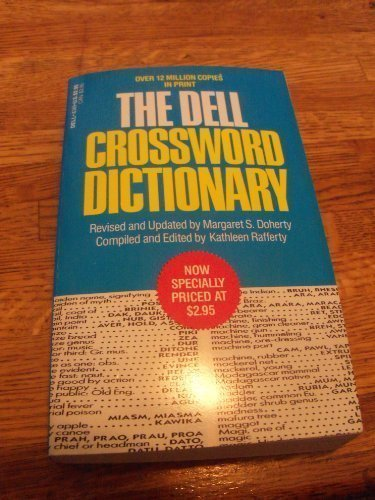9780440163091: Dell Crossword Dictionary, The