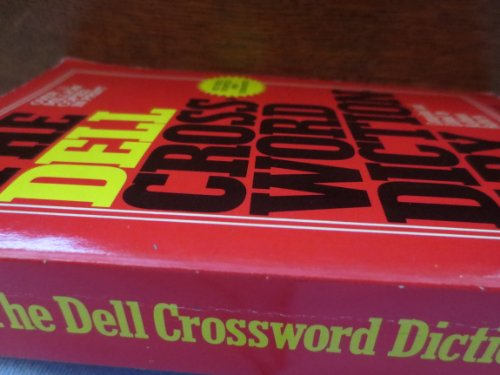 The Dell Crossword Dictionary 9780440163145 Crossword Dictionary