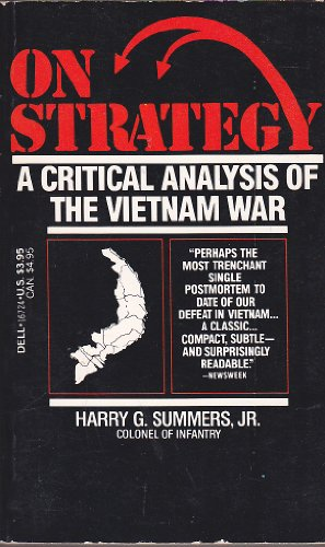 9780440167242: On Strategy: Book 1: A Critical Analysis of the Gulf War