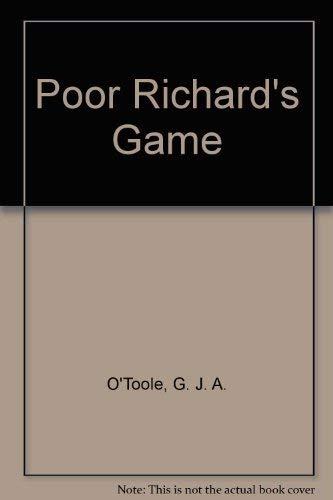 9780440170280: Poor Richard's Game