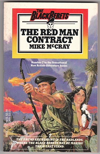 9780440172437: Black Berets 07 Red Man Contract