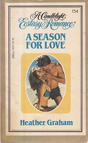 9780440180418: A Season for Love (Candlelight Ecstasy, No. 154)