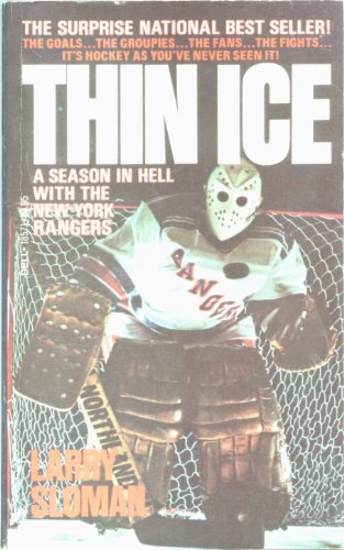 9780440185710: Thin Ice: A Season in Hell With the New York Rangers