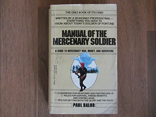 9780440200147: Manual of the Mercenary Soldier