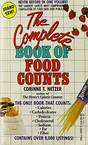 9780440200628: The Complete Book of Food Counts