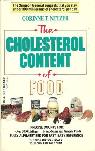 Cholesterol Content Of Food