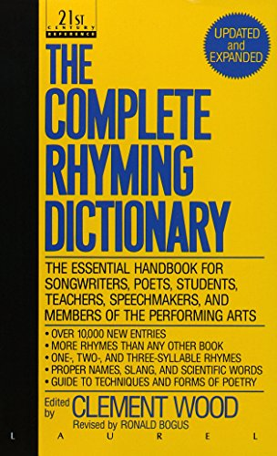 9780440212058: The Complete Rhyming Dictionary: Including The Poet's Craft Book