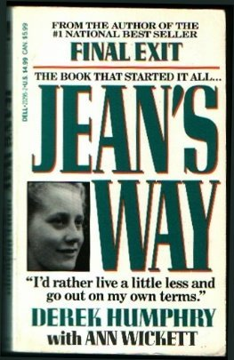 9780440212959: Jean's Way/I'd Rather Live a Little Less and Go Out on My Own Terms