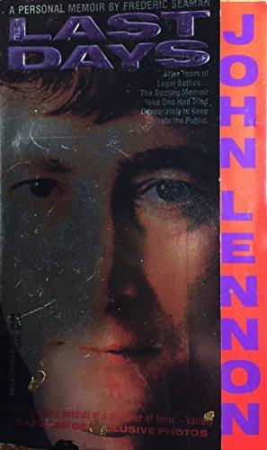 9780440213437: Last Days of John Lennon