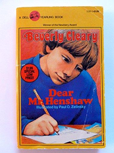9780440213666: Dear Mr. Henshaw