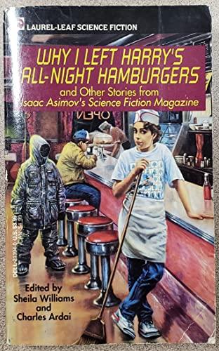 9780440213949: WHY I LEFT HARRY'S ALL NIGHT HAMBURGER S (Laurel-leaf Science Fiction)