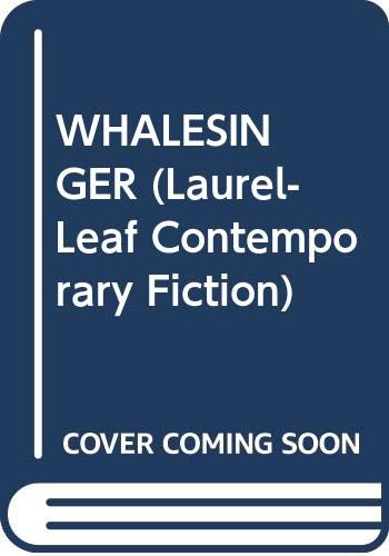 9780440214199: Whalesinger (Laurel-Leaf Contemporary Fiction)