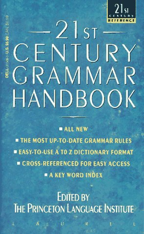 9780440215080: 21st Century Grammar Handbook (21st Century Reference)