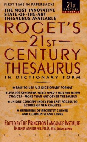 9780440215554: Roget's 21st Century Thesaurus