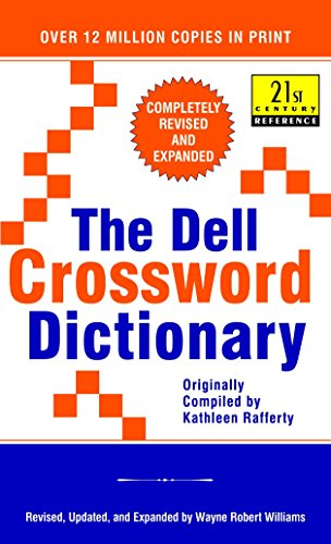 9780440218715: The Dell Crossword Dictionary: Completely Revised and Expanded (21st Century Reference)