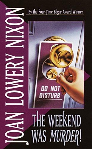 9780440219019: The Weekend Was Murder